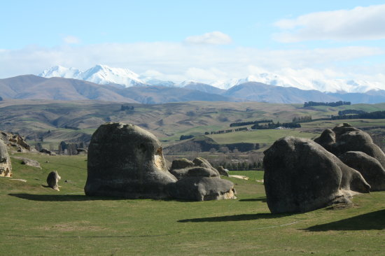 elephant rocks , North Otago, New Zealand