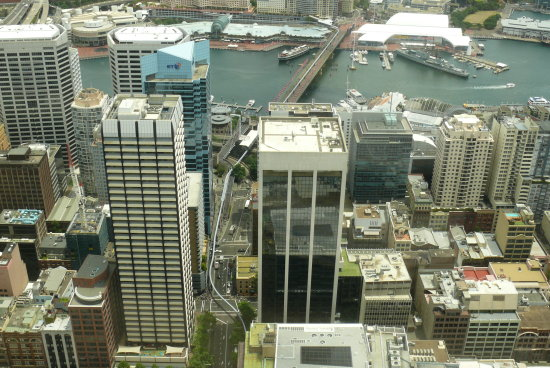 view from centrepoint tower sydney