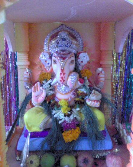 My Friends Relatives House Ganesh Festival Celebration5