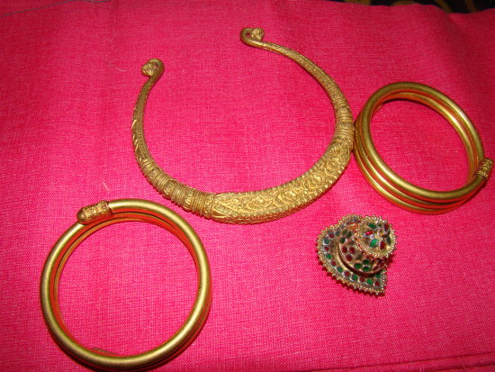 Ethnic Gold Ornaments India