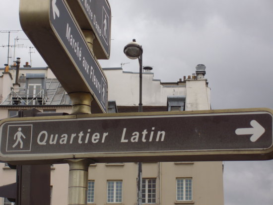 quartier latin paris france