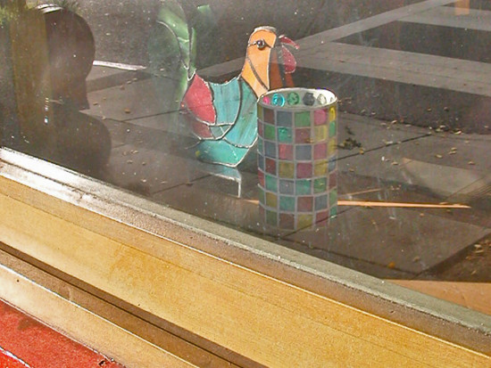 berkeley window stainedglass glass rooster chicken glassfph reflections