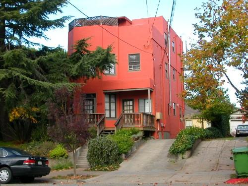oakland orange house building architecture montgomery myoaklandfph