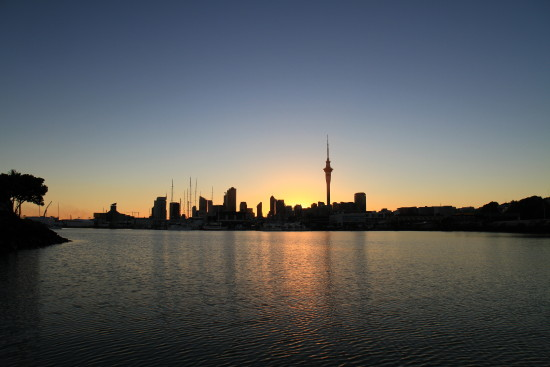 auckland city skytower