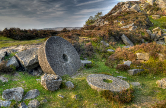 Peak District Derbyshire Millstone