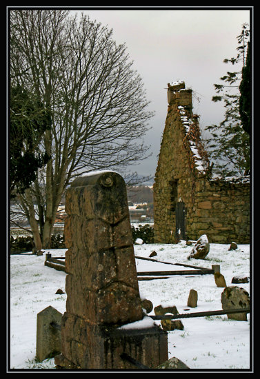 grave yard church ruin letterkenny donegal ireland