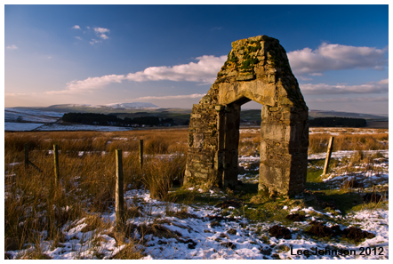Landscape lancashire folly Remnants Pendle Spideyj
