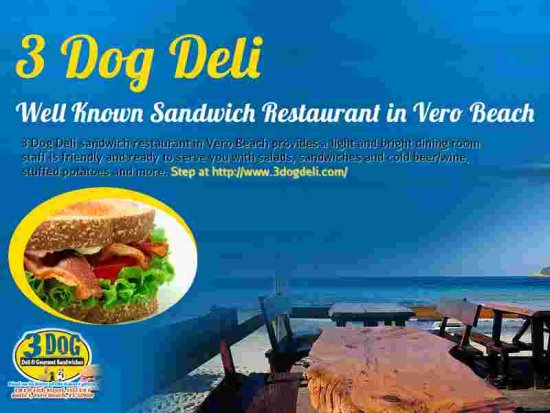 Sandwich Restaurant vero beach