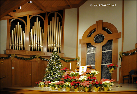 stlouis missouri us usa PUCC Christmas_Eve Tree art organ_pipes 122408 2008