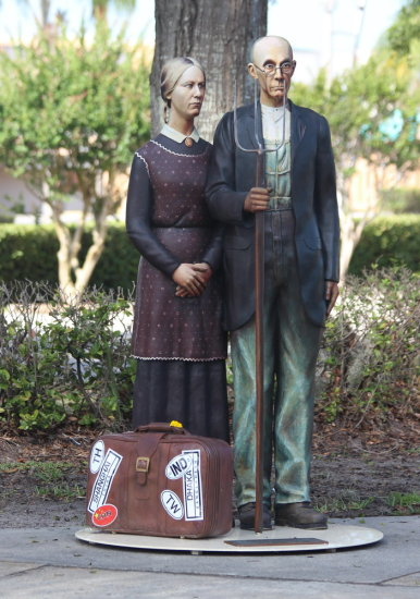 sculpture Seward Johnson Plant City Florida