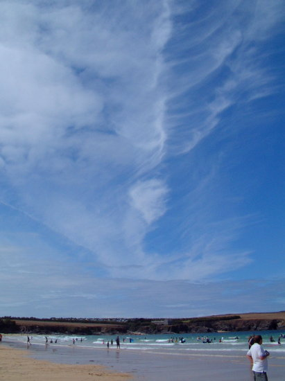 cornwall sky clouds