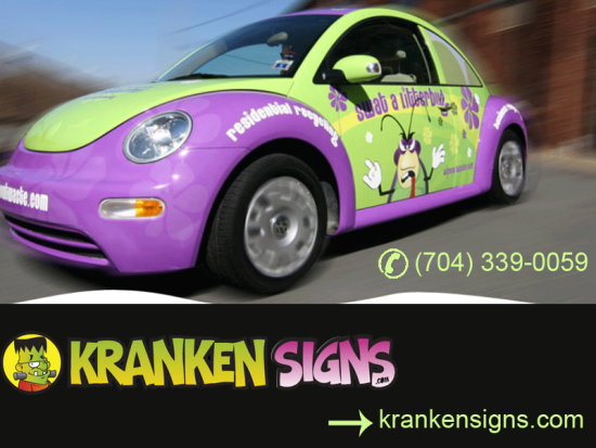 Vehicle wraps charlotte nc wall graphics custom decals