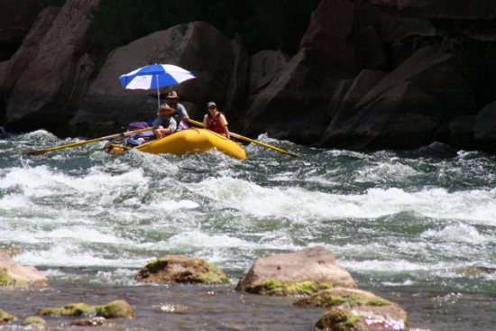 raft Arizona Grand Canyon Adventure rafting river