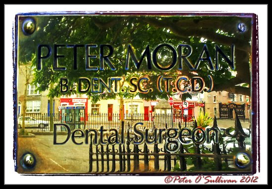 reflectionthursday Brass Plaque Dentist Tralee Kerry Ireland