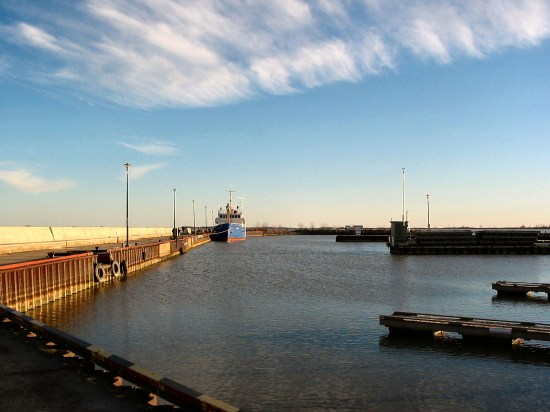 Gimli harbour