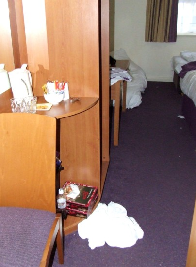 Trashed Room In My Hotel Rob Hickey 2011