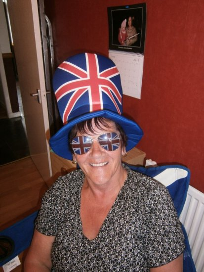 diamond jubilee queen unionjack forfar angus scotland scottish