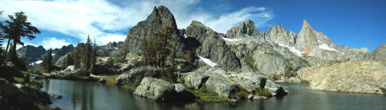 Panorama Mineret Mountian Range Mammoth California