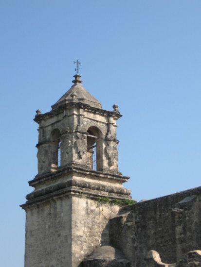San Antonio Mission Belltower