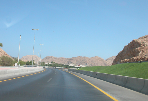 on the way to muscat