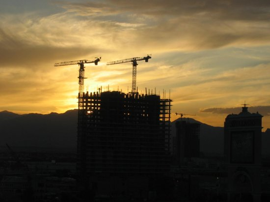 building construction sunset lasvegas nevada