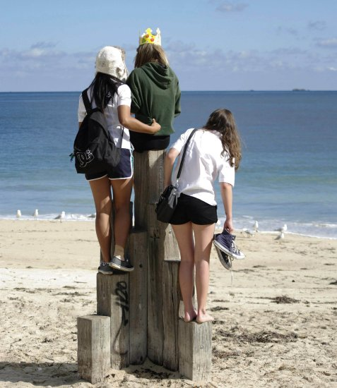 king castle school girls beach fremantle littleollie