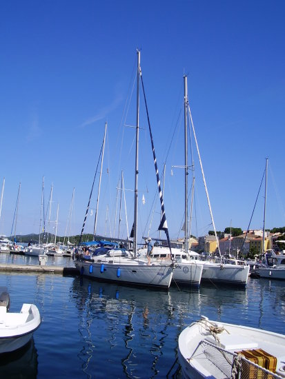 Croatia Losinj Adriatic Harbour Port