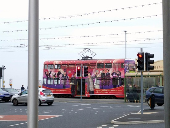 england blackpool trams