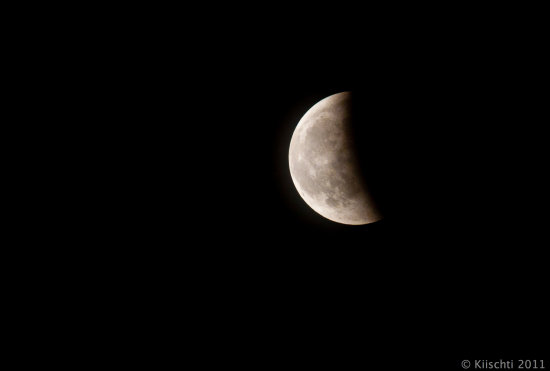 Lunar eclipse 15062011