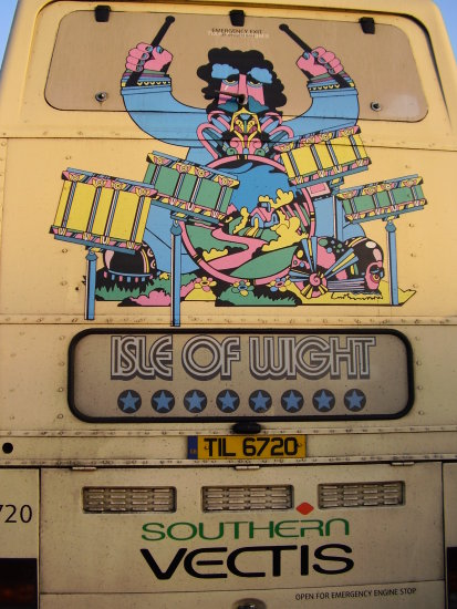 isle of wight festival bus
