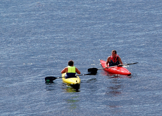 canoe paddle river people fowey cornwall