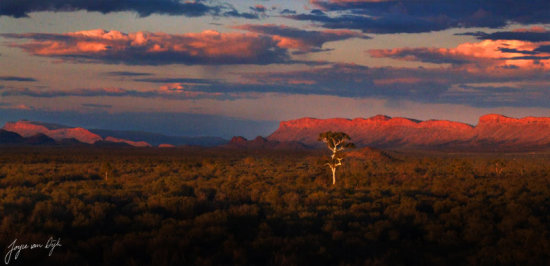 MY FAVORITE ONE 25 km s from Alice Springs NT Australia