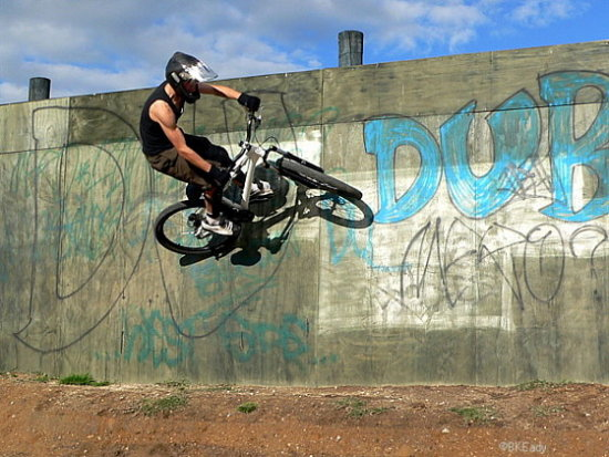 boy mtb mountainbike jump dirtjumps wallride extreme