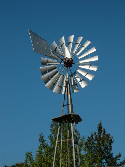 A wind mill in Ontario