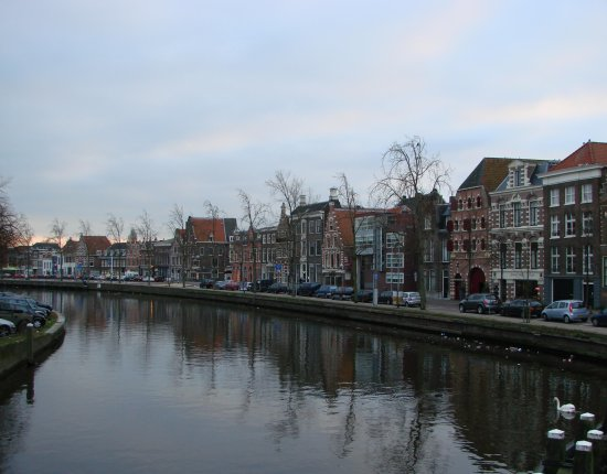 Holland Haarlem architecture Spaarne