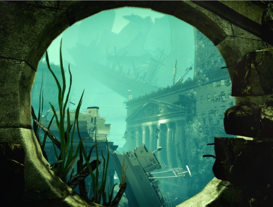 waterworld underwater city