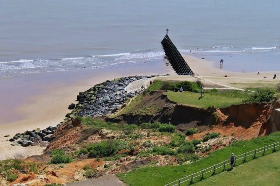 A view from the top of the tower at Walton on the naze in Essex