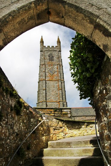 cornwall church arch