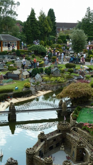 england beaconsfield bekonscot architecture people