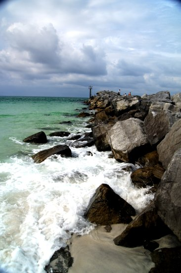 beach florida destin sand water sea rocks