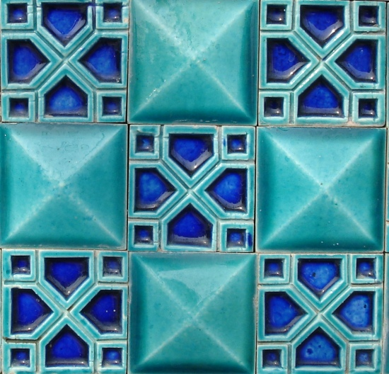 Handicraft Ceramic Art Multan Punjab Pakistan Beauty Folk Blue Imtiaz