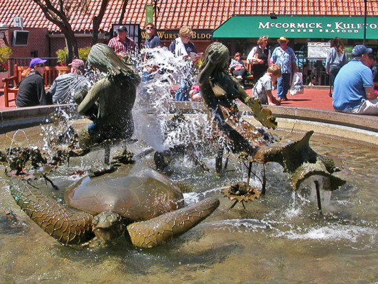 ruthasawafph bronze sculpture ghirardelli square fountain sfartfph