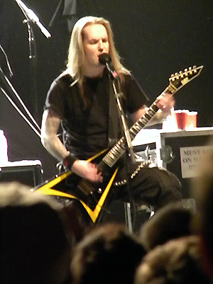Alexi Laiho Children of Bodom guitarist