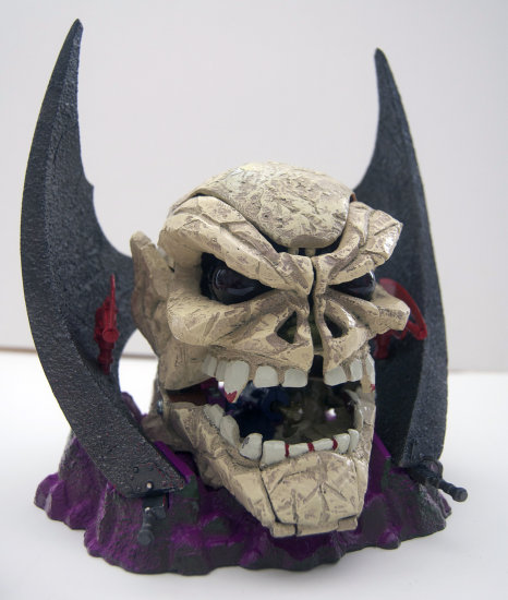 mighty max toys prototype mega head skull master