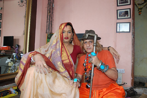images of katrina kaif house. This is Laxmi Narayan Tripathi at her home at Thane .