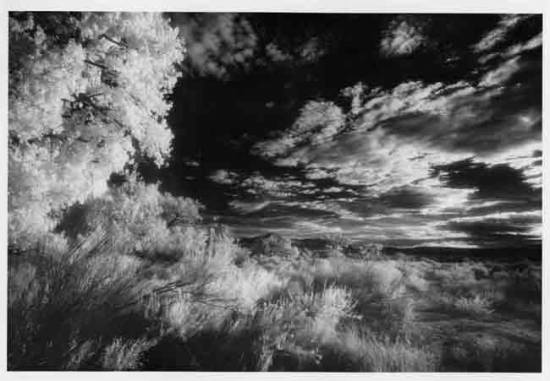 Infrared GhostRanch NewMexico