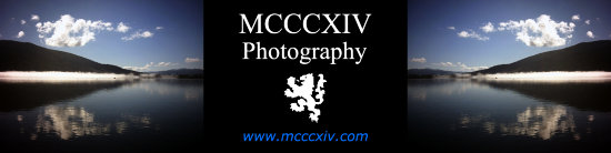 MCCCXIV Photography Banner Scott 1314 Scotland Nature World Travel