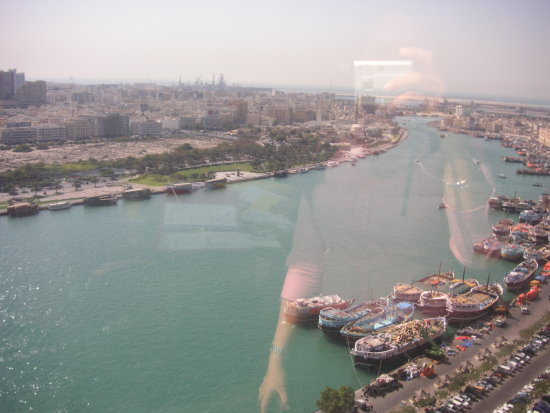 Other side of the Dubai creek.