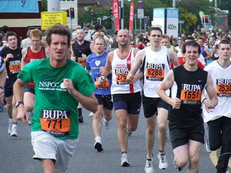 bupa great manchester run 10k 2007