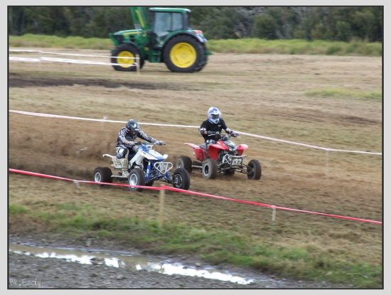 quad motorbike atv vehicle sport trials fourwheeler race
